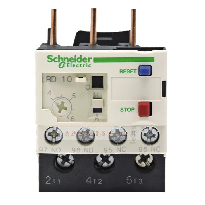 施耐德LRD系列热继电器