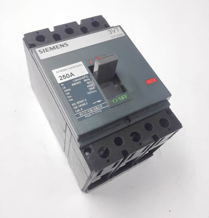 3VT-250塑壳断路器